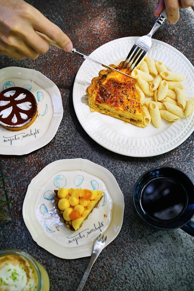 大和頓物所/屏東/甜點/百香果鮮奶油/可可塔/鹹派