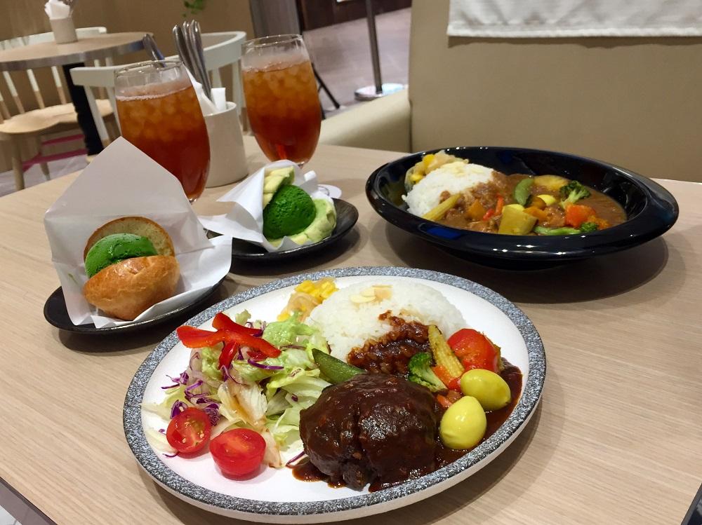 JAPAN RAIL CAFE/台北/微風南山atre/特製咖哩/漢堡排/Gelato冰淇淋