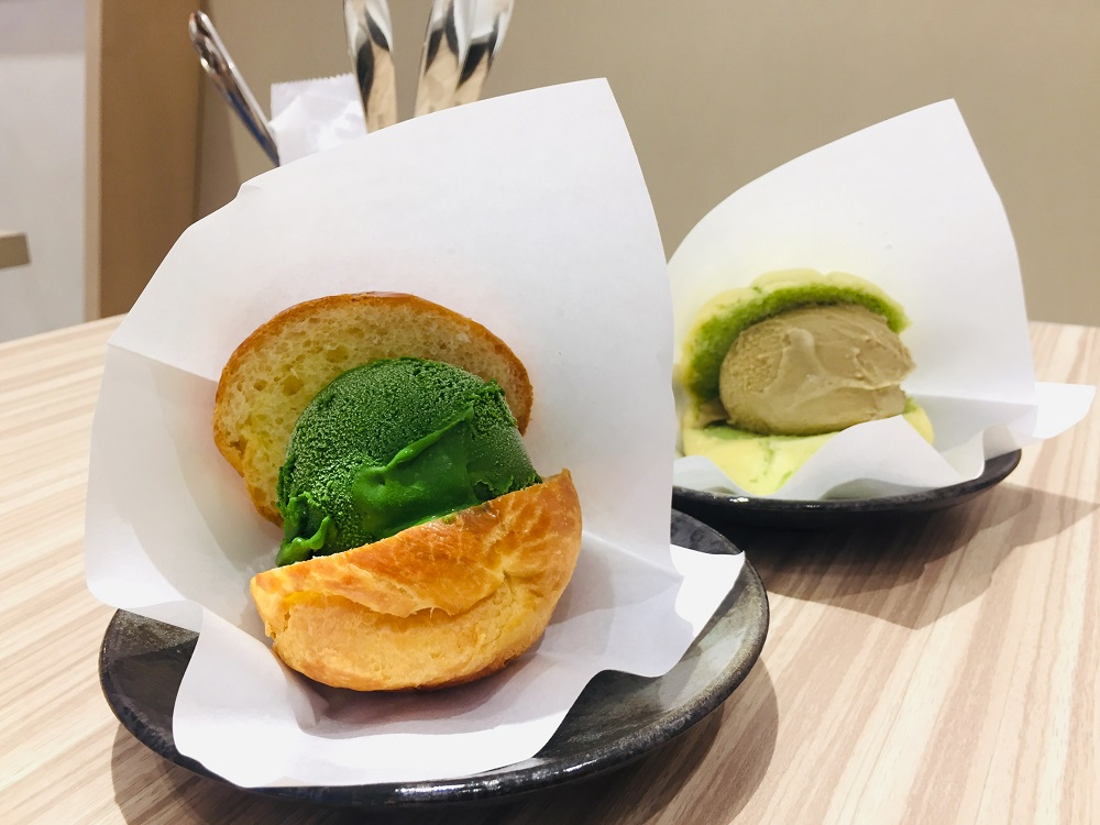 JAPAN RAIL CAFE/微風南山atre/nanaya抹茶百匯/世界上最濃的抹茶/Gelat