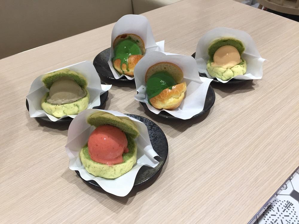 JAPAN RAIL CAFE/台北/微風南山atre/世界上最濃的抹茶/Gelato