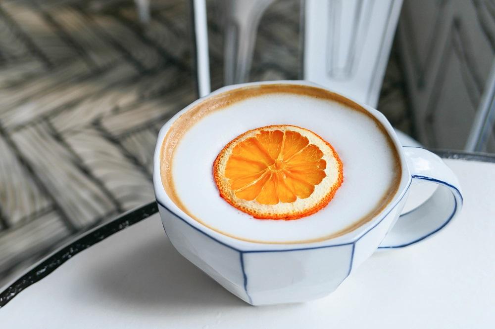 Cafe延南洞223-14/首爾/韓國/網紅名店/韓式咖啡/香橙咖啡