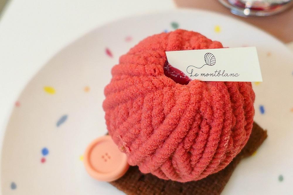 Le Montblanc/首爾/韓國/美拍甜點/法式點心/毛線球蛋糕