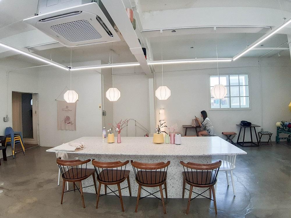 Le Montblanc/首爾/韓國/美拍甜點/老編織工廠/溫暖系咖啡廳