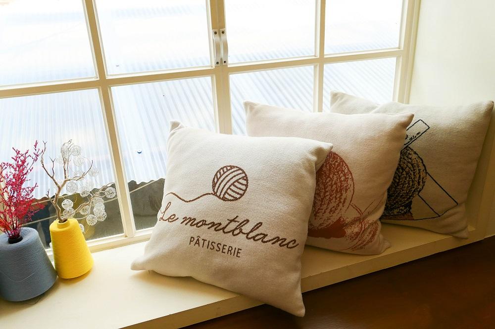 Le Montblanc/首爾/韓國/美拍甜點/編織工廠/毛線抱枕/溫暖系咖啡廳