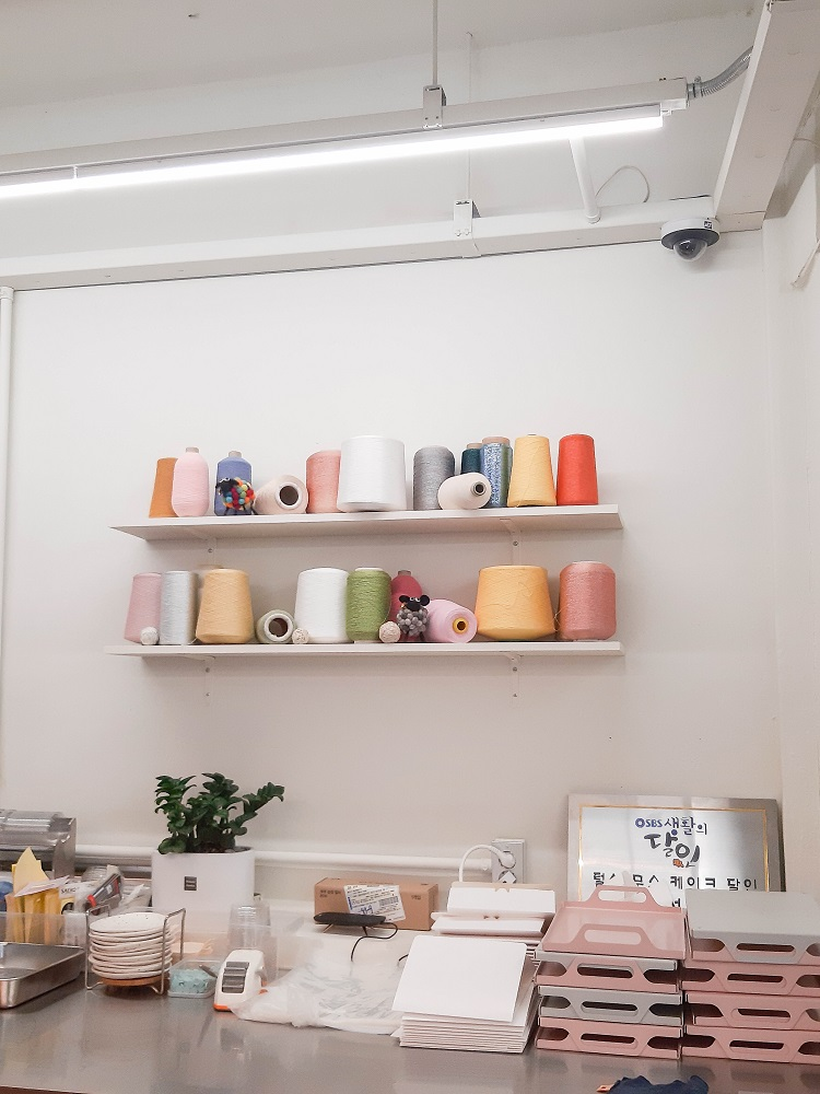 Le Montblanc/首爾/韓國/美拍甜點/毛線/編織工廠/溫暖系咖啡廳