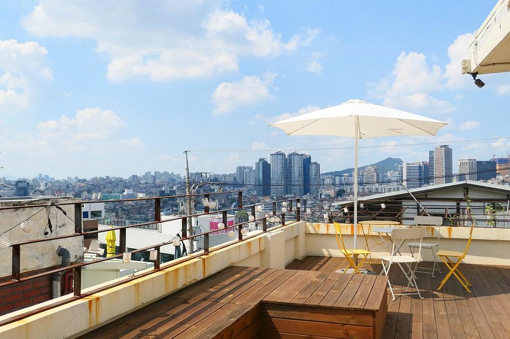 Le Montblanc/首爾/韓國/美拍甜點/頂樓/露天座位/最佳視野