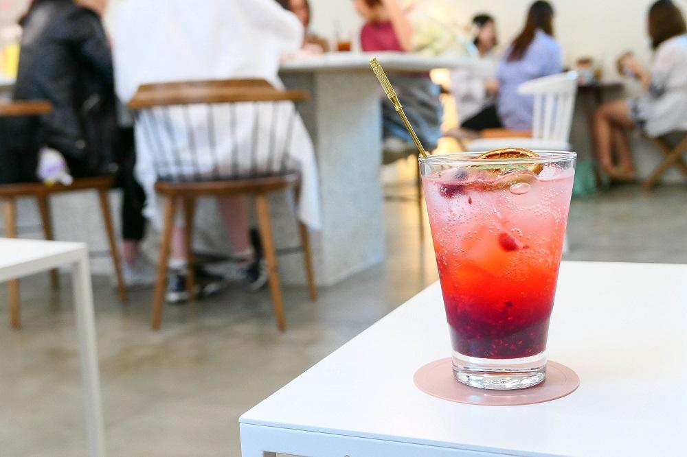 Le Montblanc/首爾/韓國/美拍甜點/現做飲料/酸甜莓果果露/氣泡飲