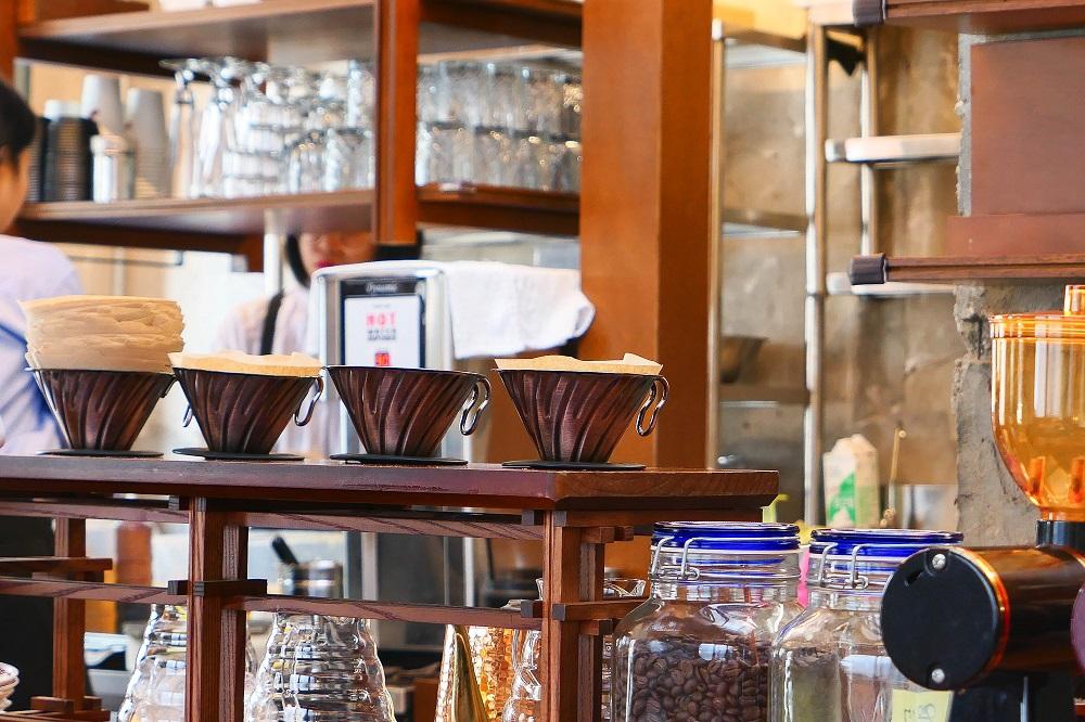 東柏洋菓子店/首爾/韓國/網紅咖啡甜點/開化期復古風/咖啡杯