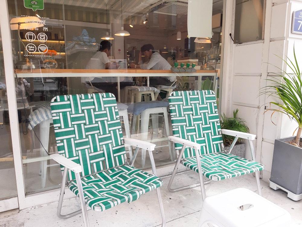 Laundry Project/首爾/韓國/洗衣咖啡店/編織躺椅