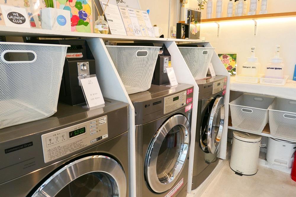 Laundry Project/首爾/韓國/洗衣咖啡店/洗衣籃/洗衣機