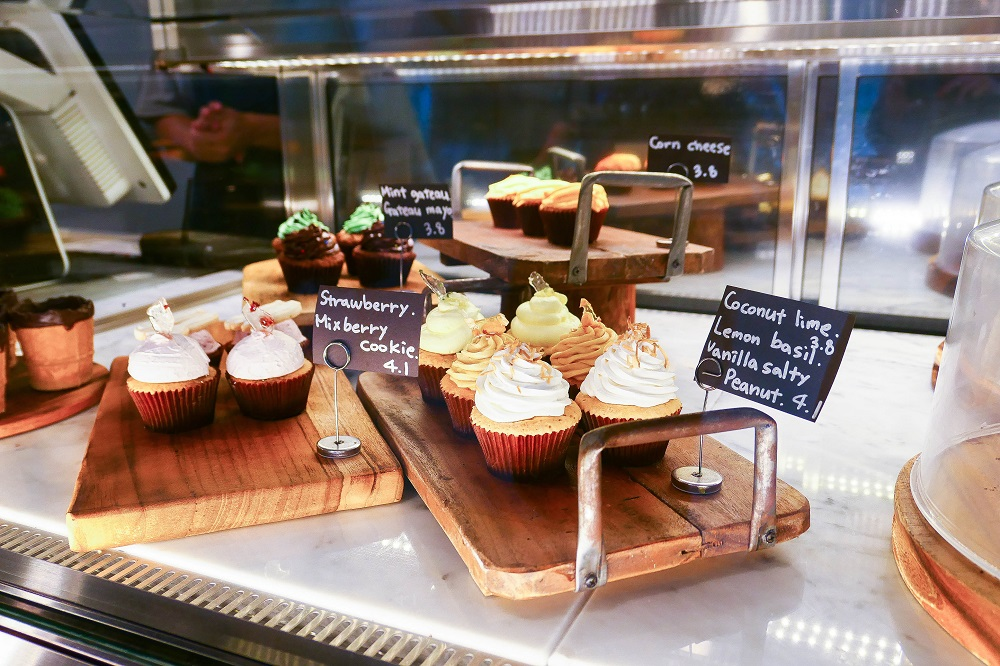 Oriole Cake/首爾/韓國/溫室綠花園/杯子蛋糕/網紅咖啡甜點