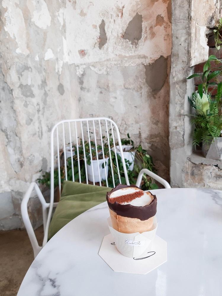 Oriole Cake/首爾/韓國/溫室綠花園/杯子蛋糕/網紅甜點