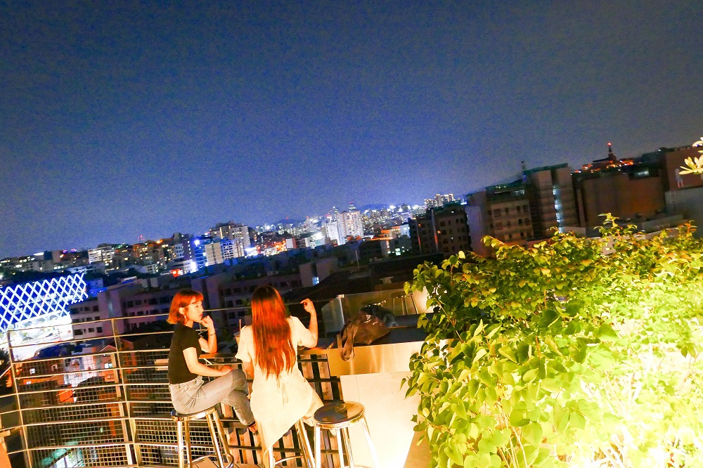 SAYOO/首爾/韓國/多媒體藝術空間/花園露臺/南山夜景