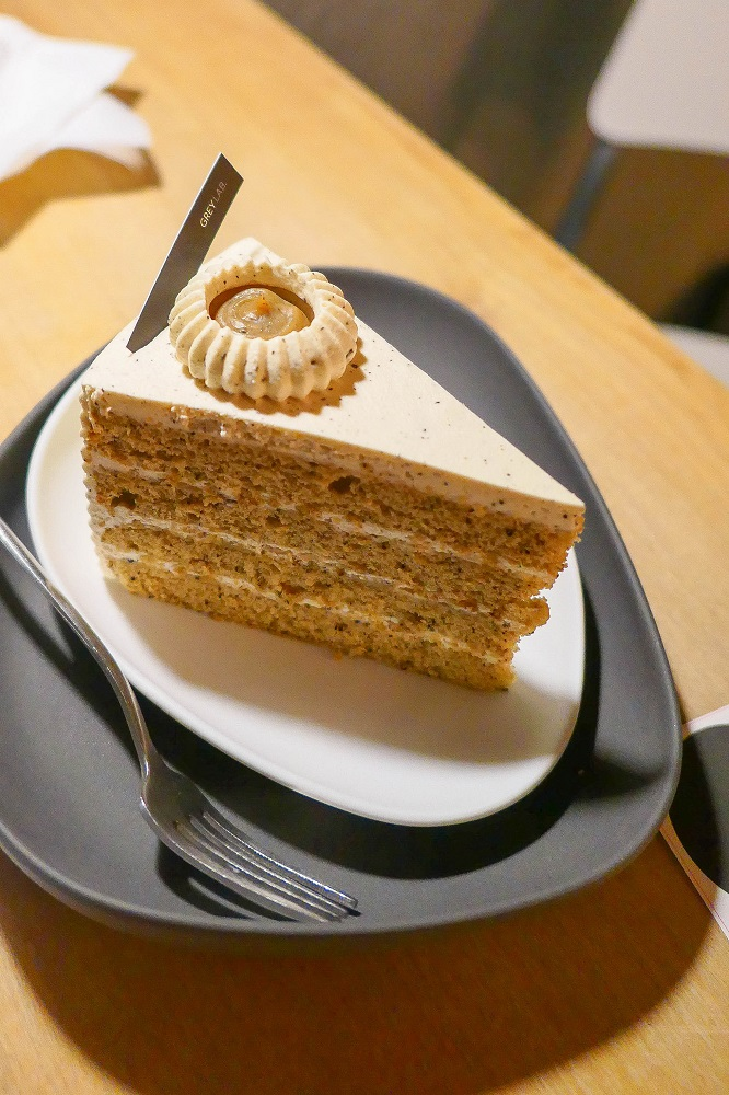 Before Grey/首爾/韓國/網紅咖啡甜點/栗子核桃蛋糕