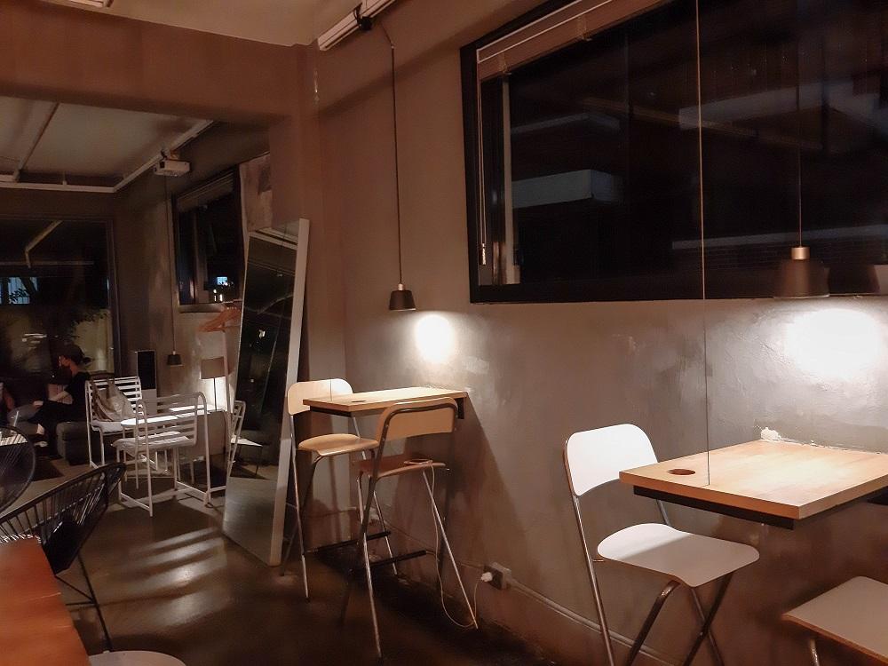 Before Grey/首爾/韓國/網紅咖啡甜點/文青咖啡館/座位區