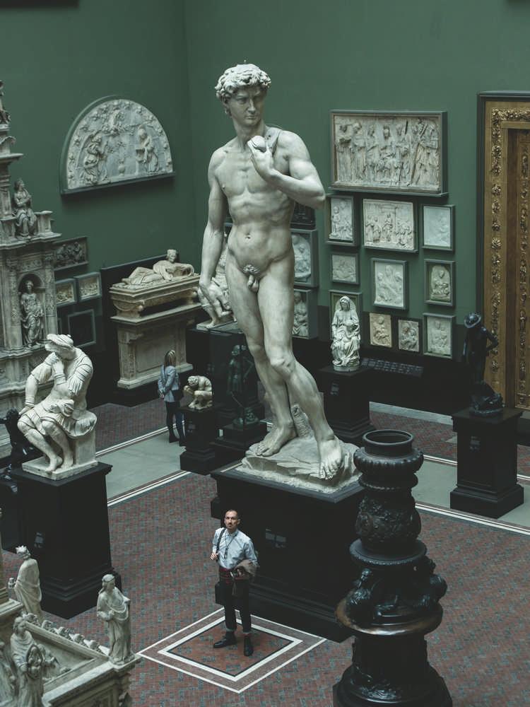 V&A Museum/倫敦/英國/旅遊/Tim Walker/特展/展廳