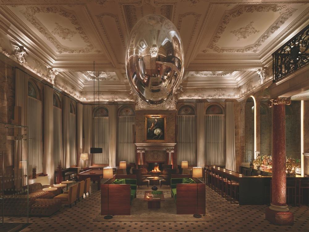 飯店大廳/The London EDITION/倫敦/英國