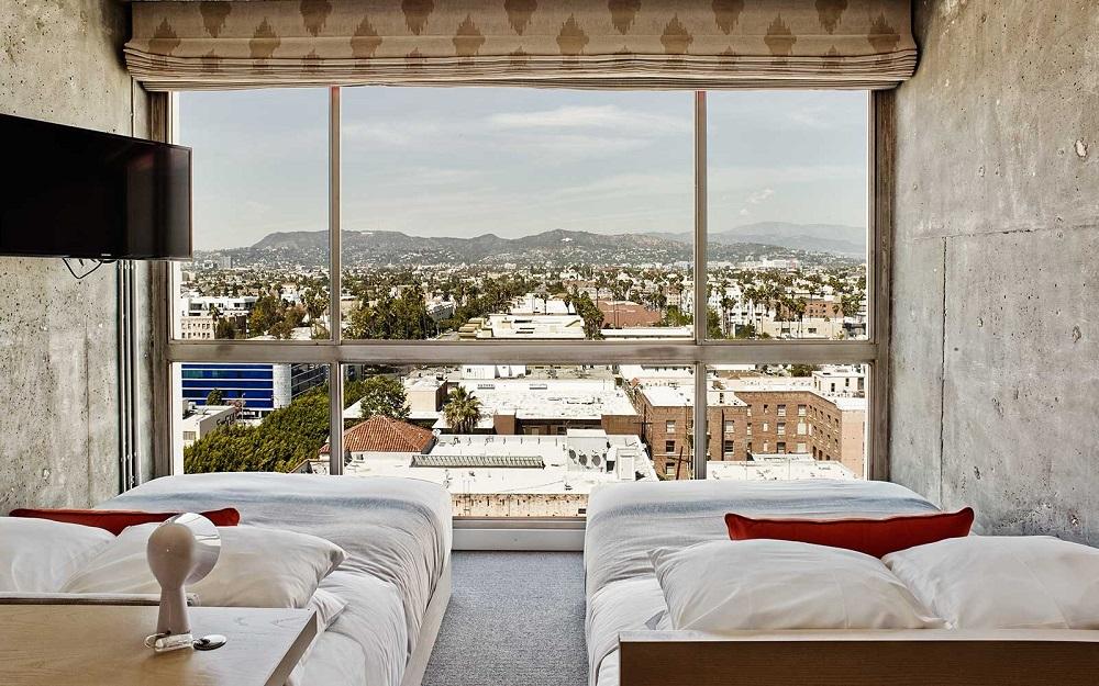 房間/The Line Hotel/洛杉磯/美國