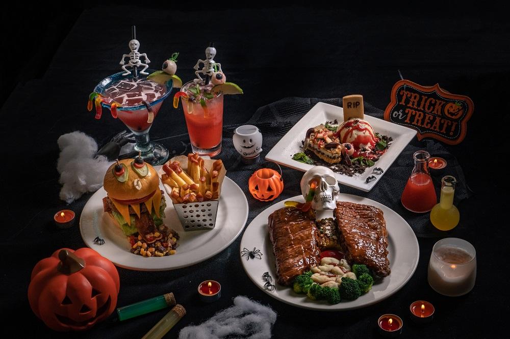 Chili's美式餐廳/台北/台中/萬聖節餐點/搞怪/Trick or Treat