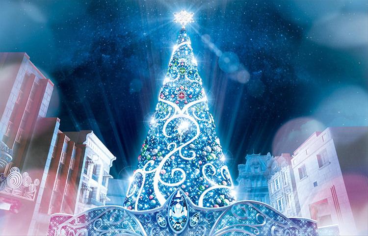 日本環球影城/大阪/聖誕節/水晶聖誕樹/水晶世界