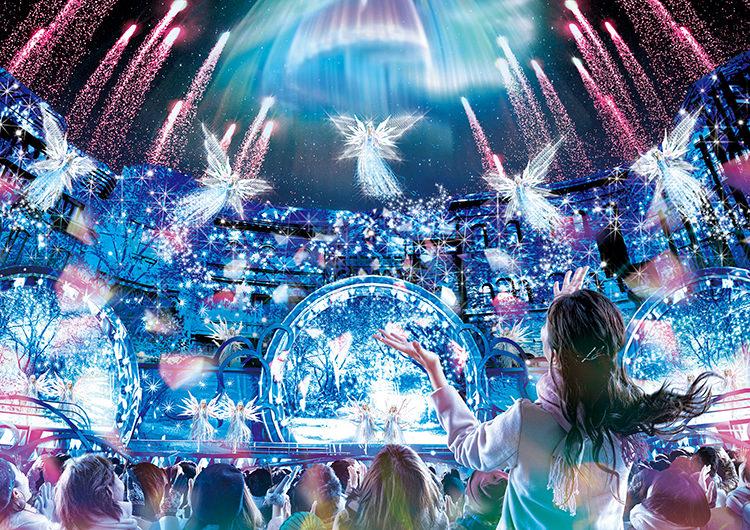 日本環球影城/大阪/聖誕節/聖誕特別夜間秀/世界最棒/水晶之約