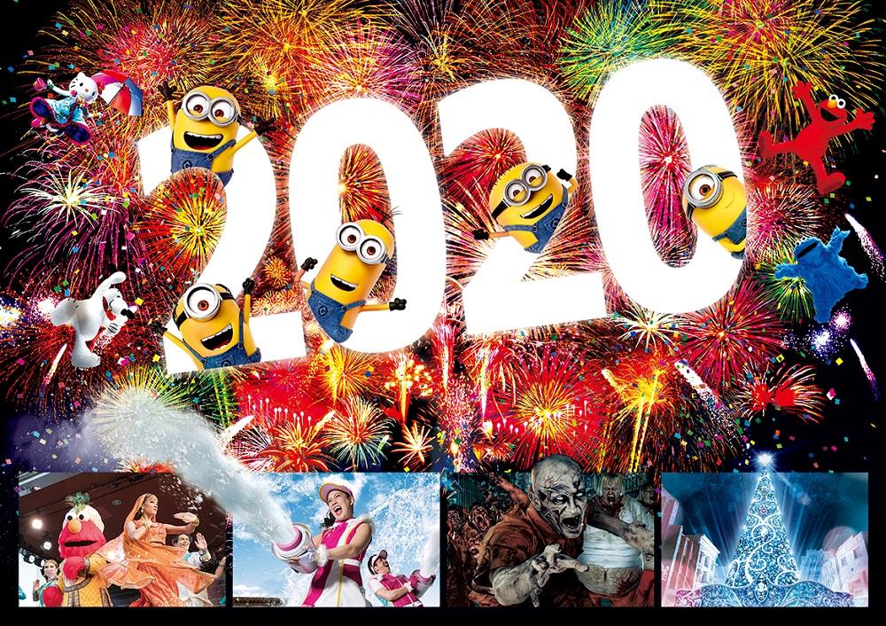 日本環球影城/大阪/2020跨年/一夜限定特別版季節性活動