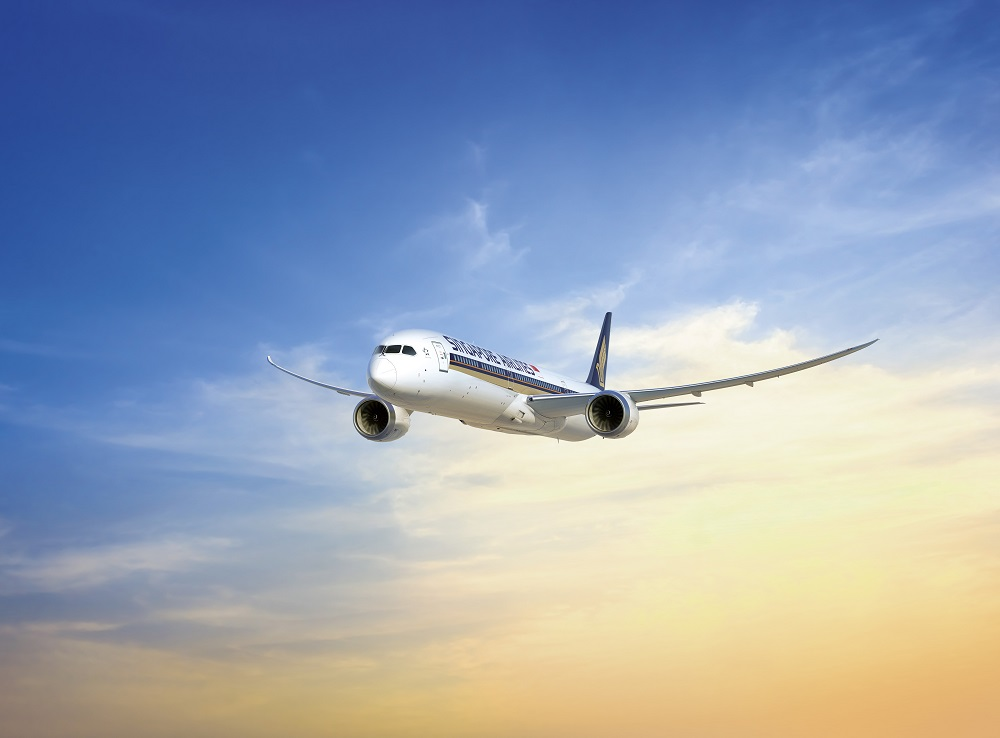 新加坡航空/波音787-10 Dreamliner/外觀/起飛