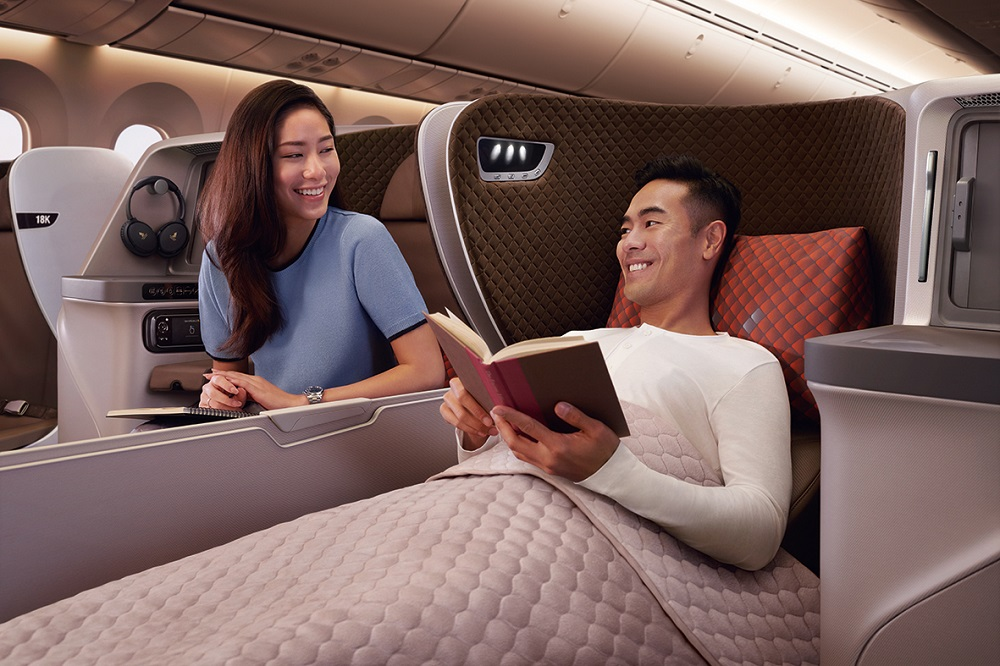 新加坡航空/波音787-10 Dreamliner/客艙/舒適/夢幻客機