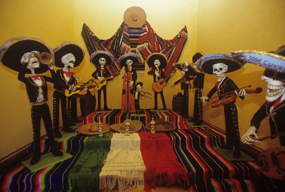 墨西哥/亡靈節/骷髏頭/墨西哥旅遊