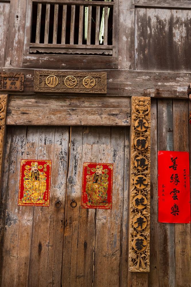 台南散策/南國孩子Susan/神農街/老屋/木雕/木門