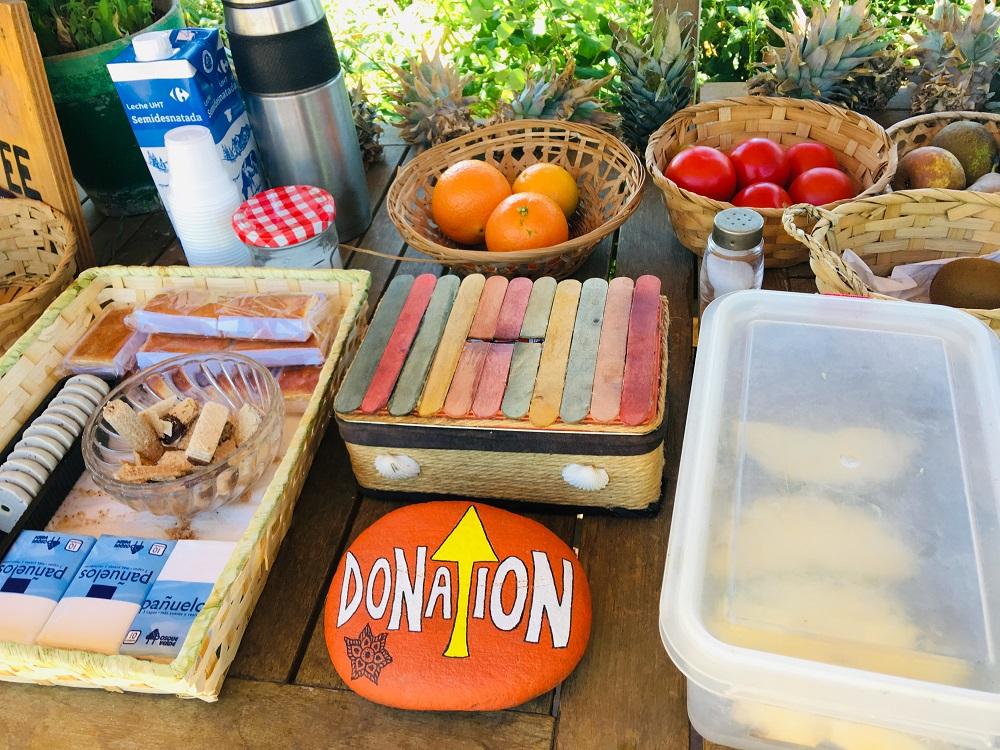 牛奶/番茄/橘子/石頭彩繪/麵包/餐點