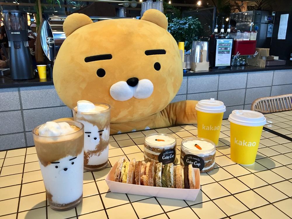 濟州島/Osirok咖啡廳(오시록)/萊恩獅子(Ryan)/咖啡/蛋糕