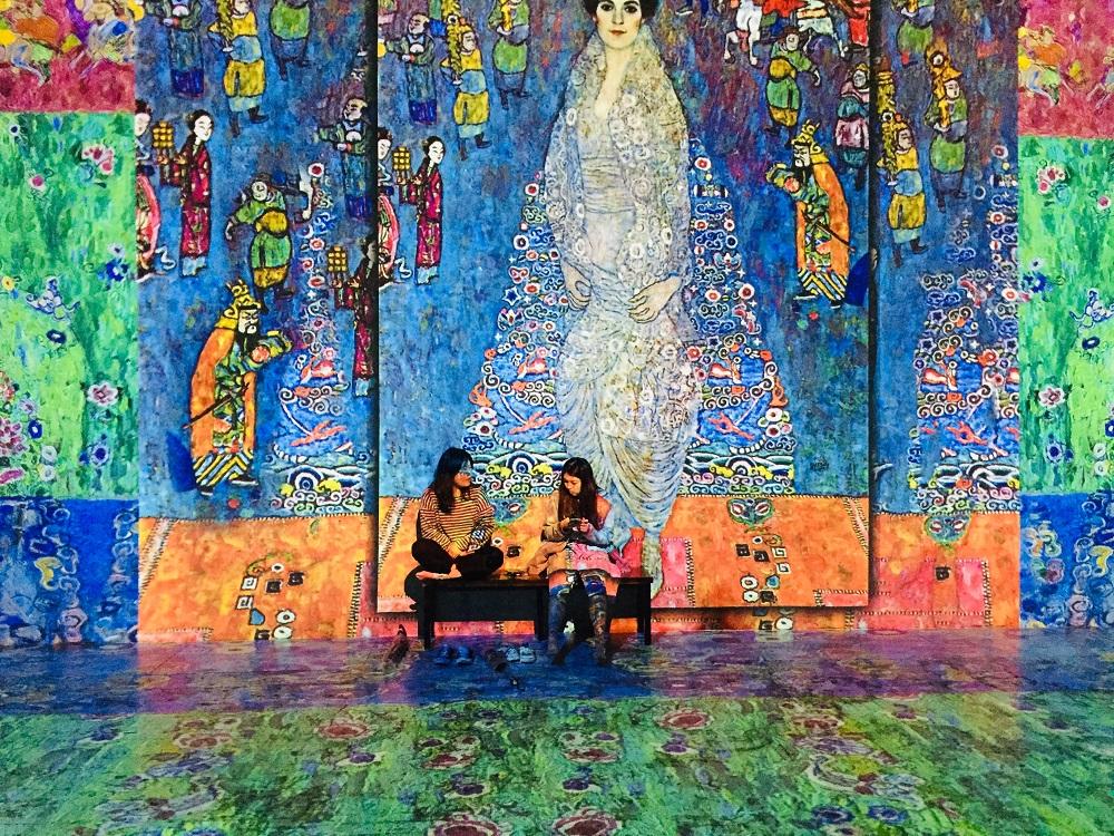 濟州島/光之地堡(빚의벙커)/法國名畫光影展