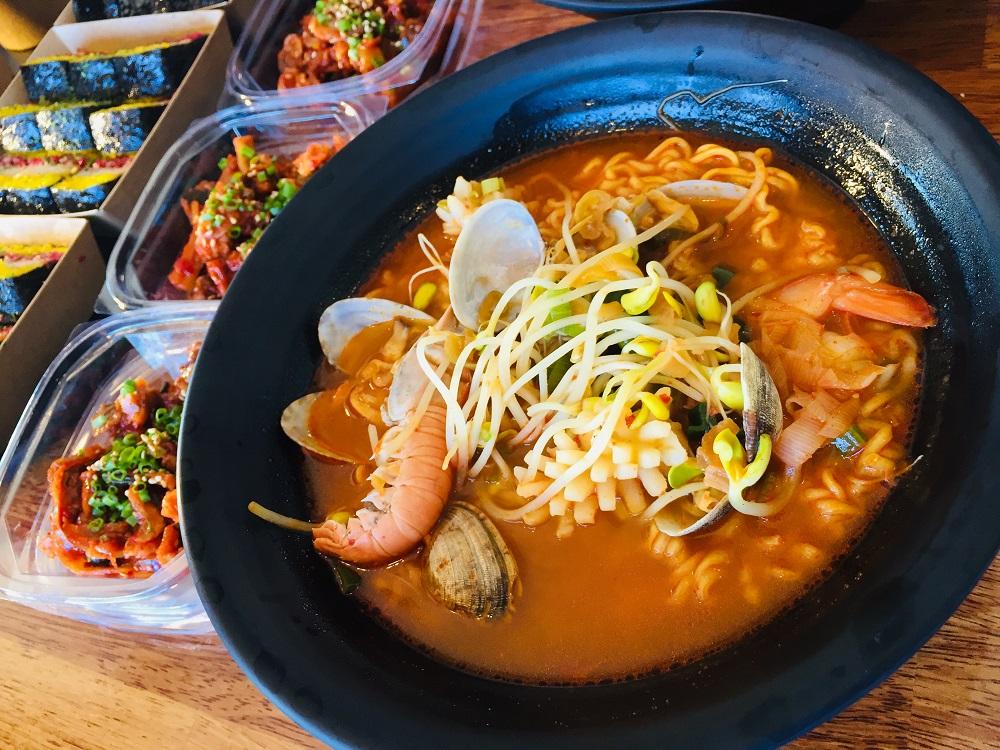 秋遊濟州島/韓國/大元家/韓式海鮮鍋/鮑魚/小章魚/濟州必吃