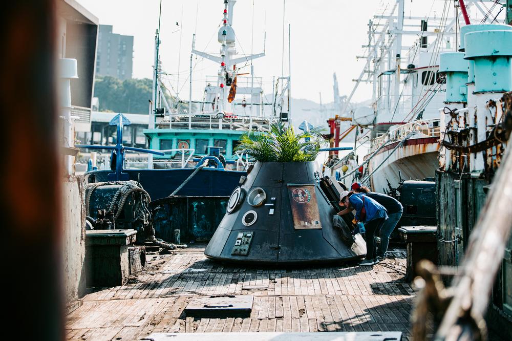 正濱漁港/海上美術館/基隆/台灣/旅遊/打卡/基隆潮藝術