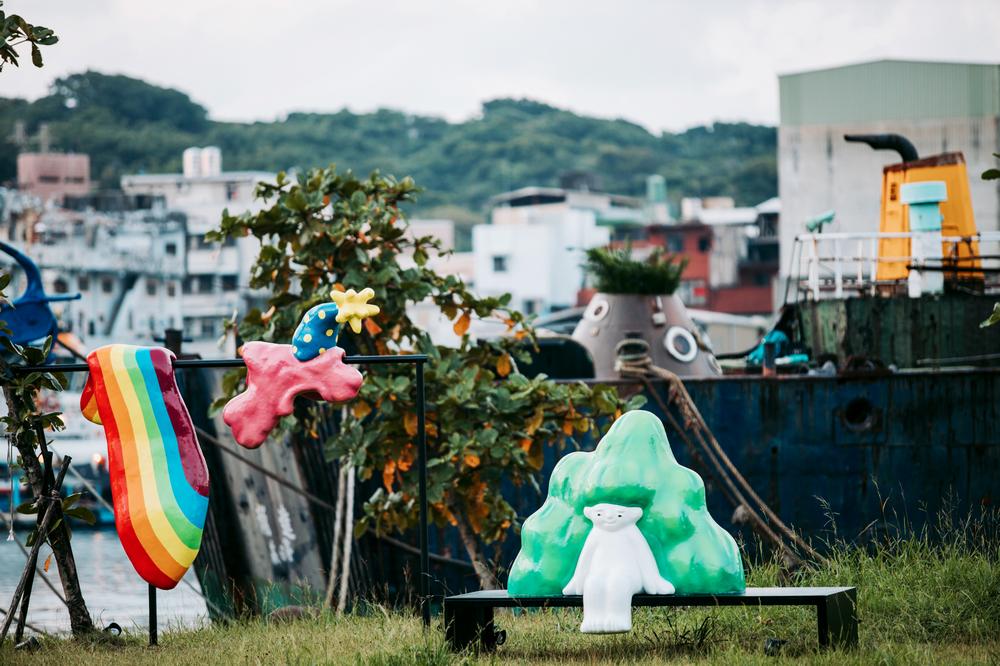 正濱漁港/雕塑/基隆/台灣/旅遊/打卡/基隆潮藝術