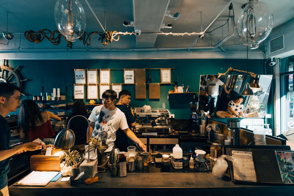 圖們咖啡/咖啡館空間/基隆/台灣/旅遊/打卡
