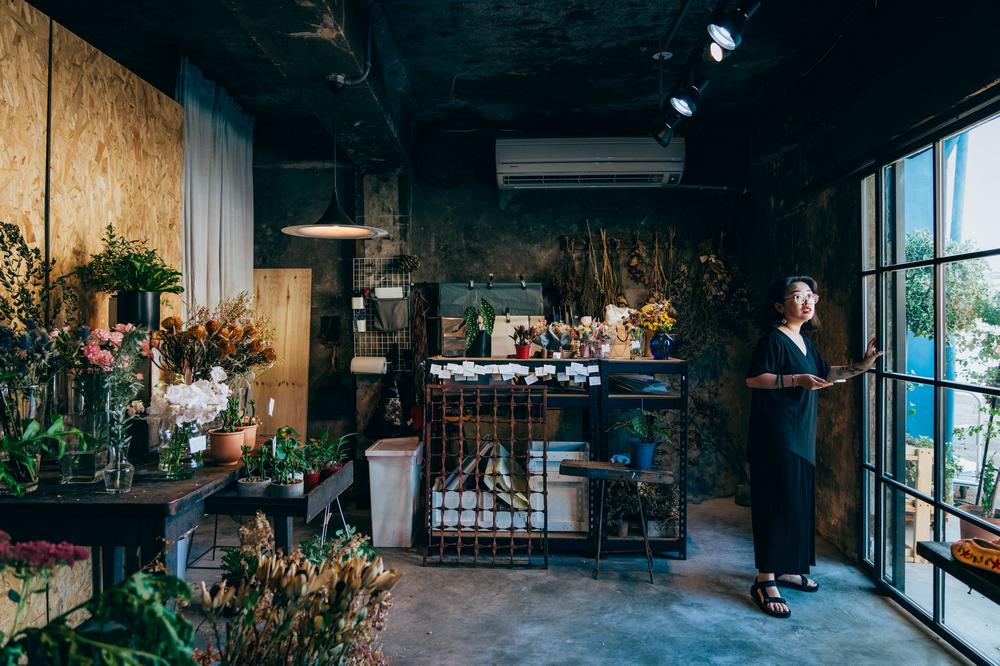 阿戴商號在海邊/花藝教室/花店/基隆/台灣/旅遊/打卡
