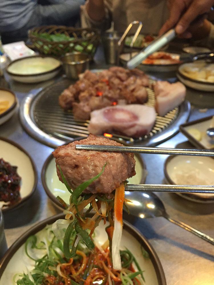 濟州島/韓國燒烤/豚似豚烤黑豬肉(돈사돈)