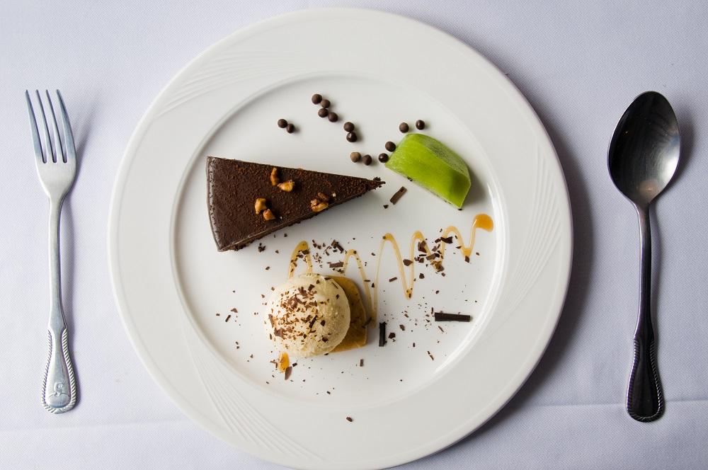 美術綠園道/台中/愛情海歐法鄉村廚/巧克力蛋糕/法式甜點