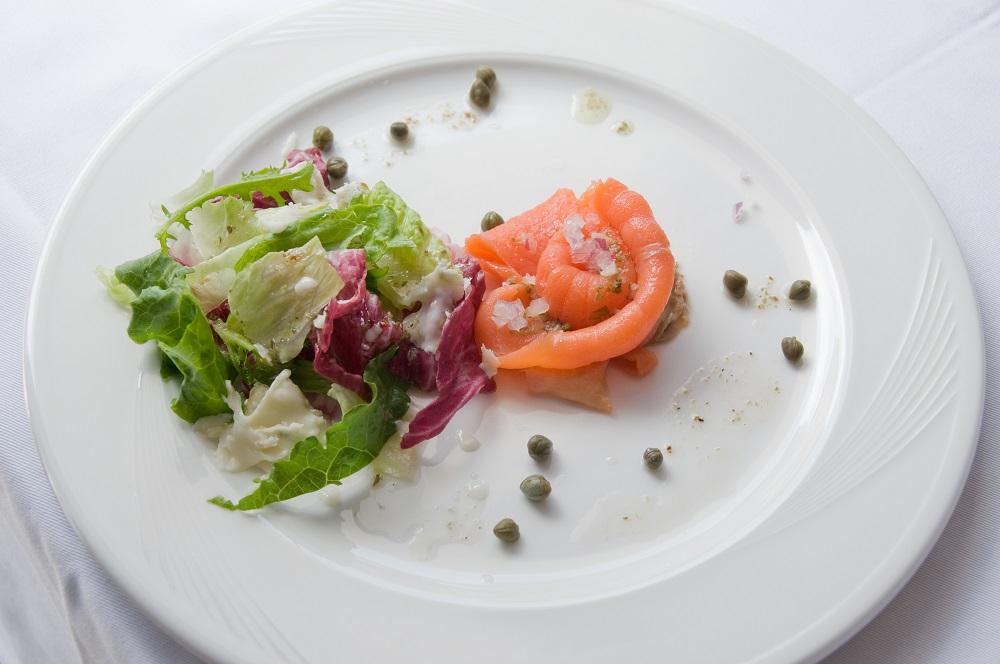 美術綠園道/台中/愛情海歐法鄉村廚/蔬食鮭魚/法式料裡