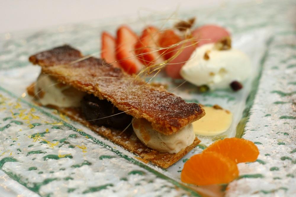 美術綠園道/台中/鹽之華法式料理廚房/法式甜點