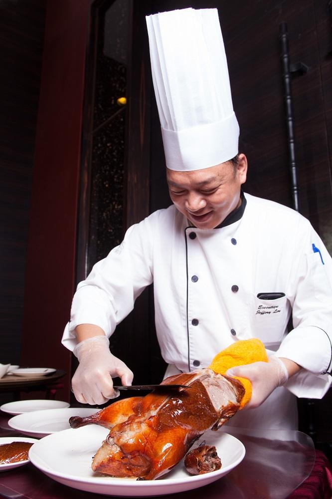 櫻桃鴨/最美味烤鴨/饕客票選第一名/蘭城晶英酒店紅樓中餐廳/林瑞勇