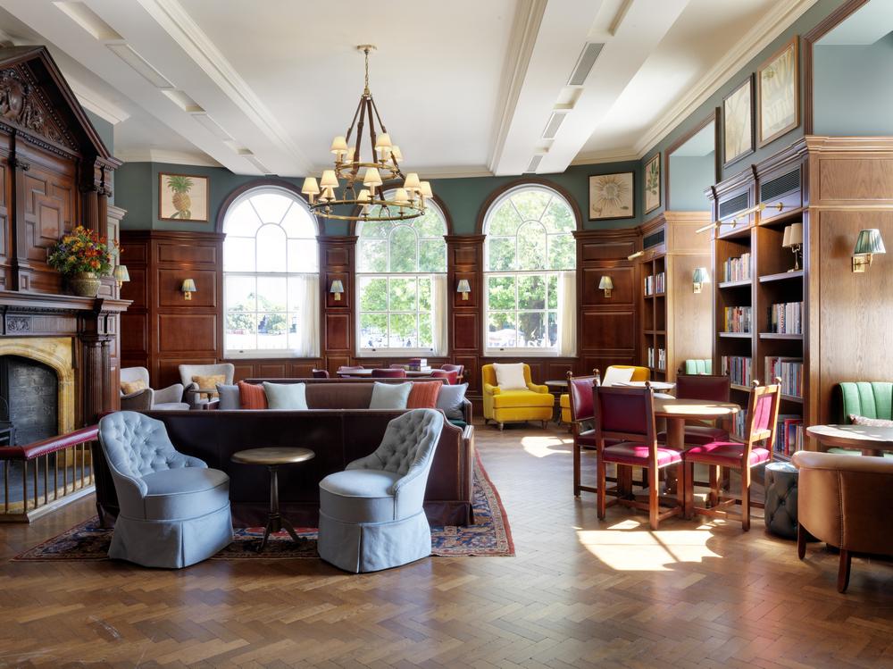University Arms/劍橋/英國/旅遊/設計旅宿/圖書館/英國老建築