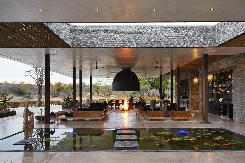 Kubili House/南非/克魯格國家公園/旅遊/非洲獵遊/荒野/大廳室外
