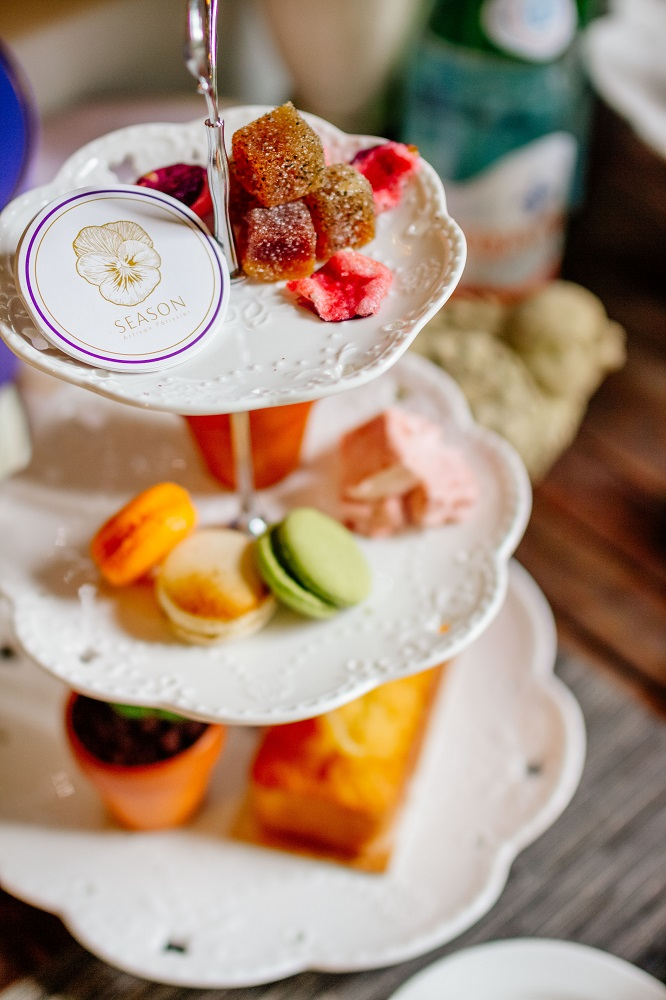 SEASON Artisan Pâtissier/大安區甜點/打卡甜點/下午茶首選/三層點心盤
