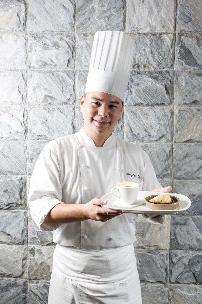台北君悅酒店/寶艾西餐廳/南瓜卡布奇諾/陳孟豐/凱菲屋