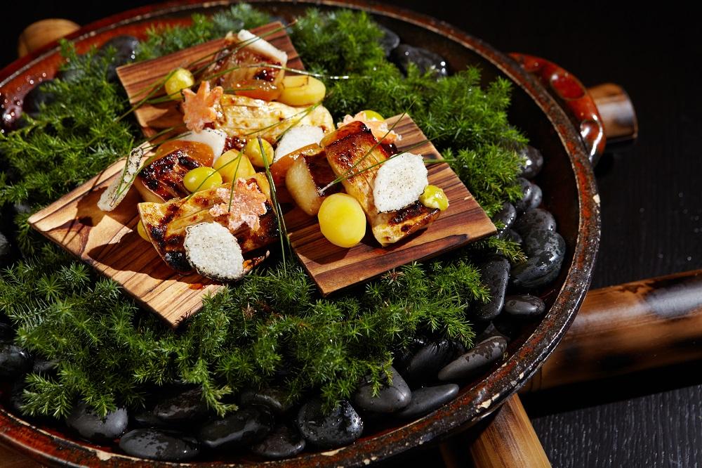 燈燈庵/廣中新輝/台北/自然流和食/日本料理/秋風鯧魚落葉燒