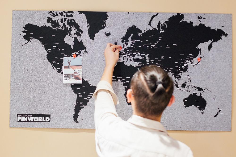 瑪黑家居選物/台中/台北/設計選物/義大利Palomar 旅人世界地圖