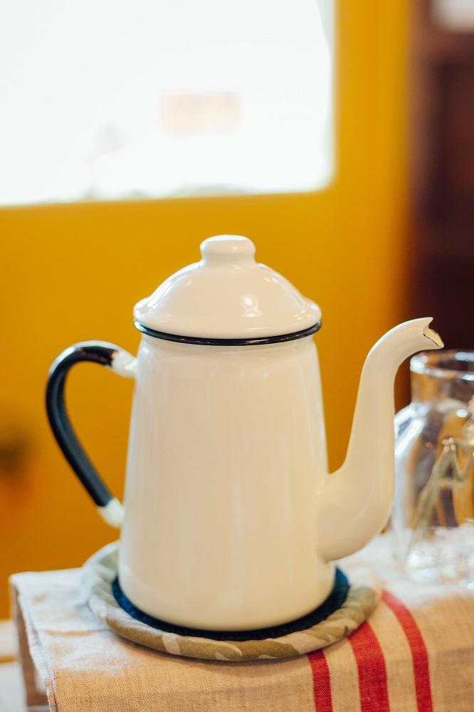 小院子生活雜貨/台中/可愛小物/野田琺瑯咖啡壺